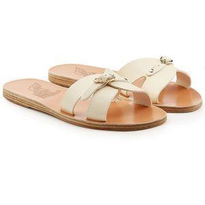 Ancient Greek Anna Cream Sandals, 9